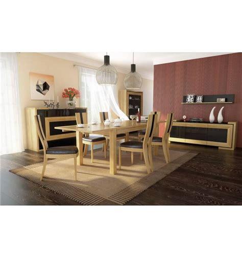 oak dining room set corino oak dining room set