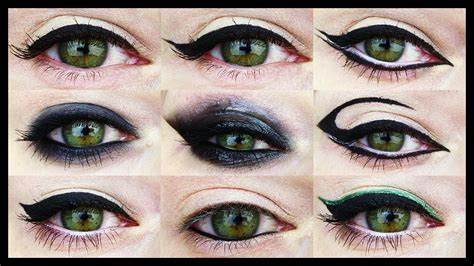 12 eyeliner tutorials for all eye shapes youtube