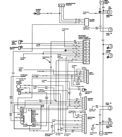 wiring diagram   ford tr  bronco tilt