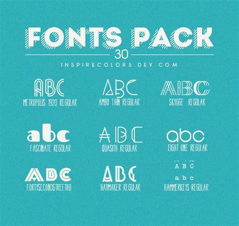 design font pack download 9 kind font pack other font free download