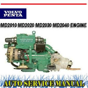Volvo Penta 2020d Service Manual by Volvo Penta Md2010 Md2020 Md2030 Md2040 Engine Service
