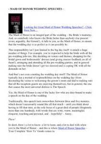 help with writing a bridesmaid speech www mediamasteryshow