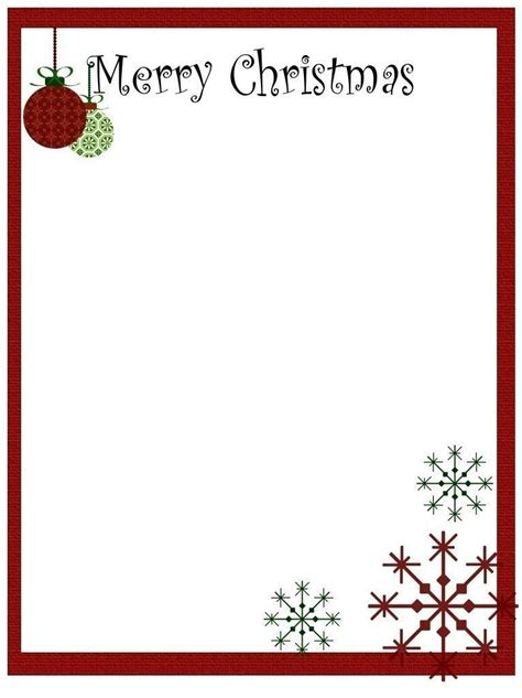 christmas letter templates microsoft word best template idea