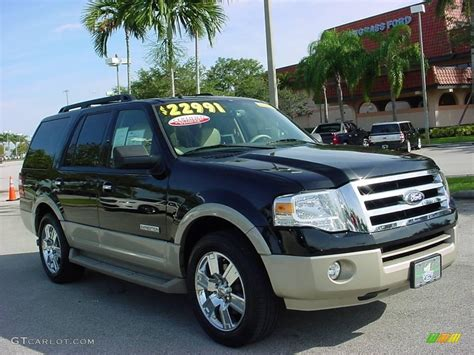 Ford Expedition 2007 by 2007 Black Ford Expedition Eddie Bauer 22200852