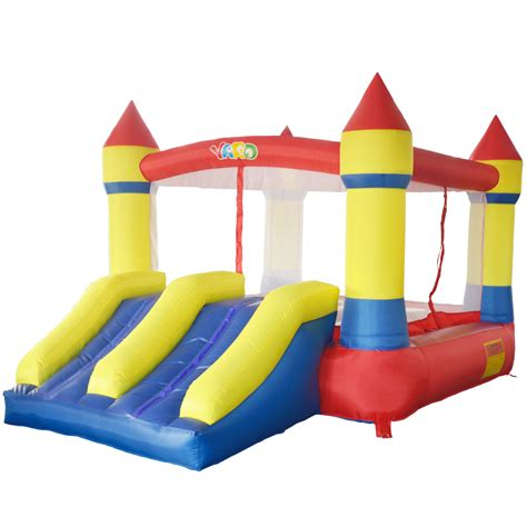 mini bounce house yard bounce house dual slide mini bouncy castle for kids