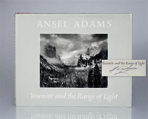 ansel adams yosemite and the range of light poster yosemite and the range of light raptis rare books