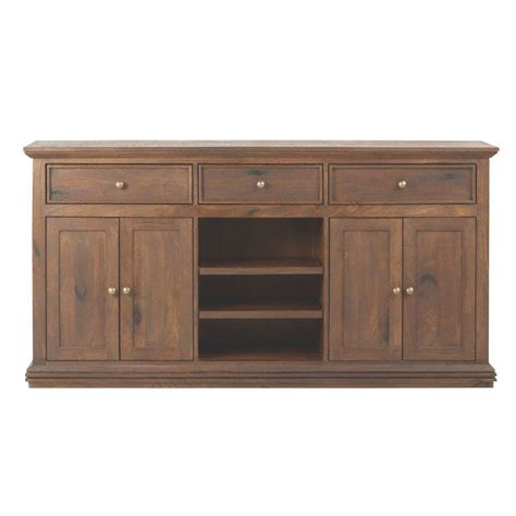 home decorators collection aldridge antique walnut buffet