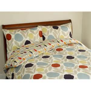 Navy Single Duvet Cover Serena Cotton Retro Floral Bedding From Laura Ashley