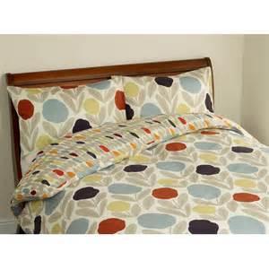 serena cotton retro floral bedding from