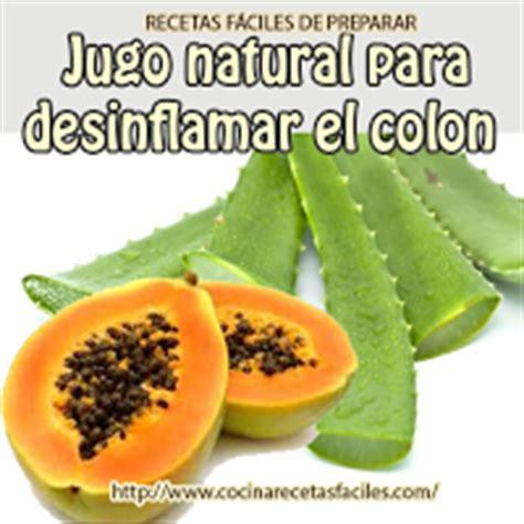 Jugos Detox Para El Colon receta de jugo para desinflamar el colon cleanse