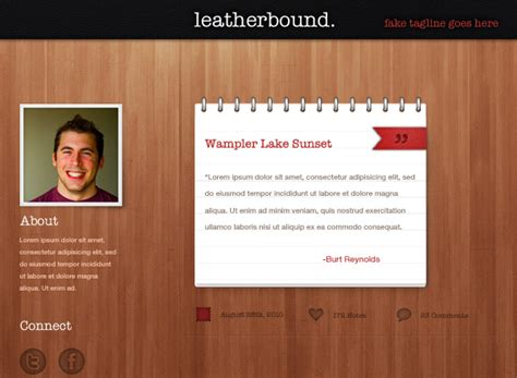 moodle theme leatherbound 50 stunning pixel perfect psd freebies inspirationfeed