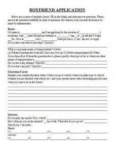 funny boyfriend application form myideasbedroom com