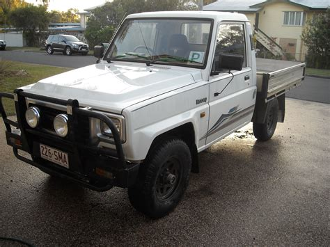 daihatsu rocky for sale 1993 daihatsu rocky 4x4 car sales qld rockhton