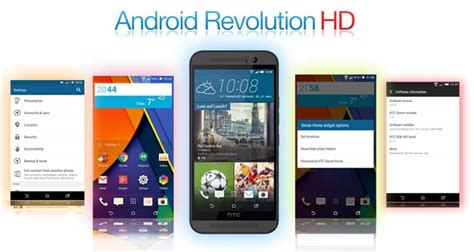 android revolution hd best custom roms for htc one m9