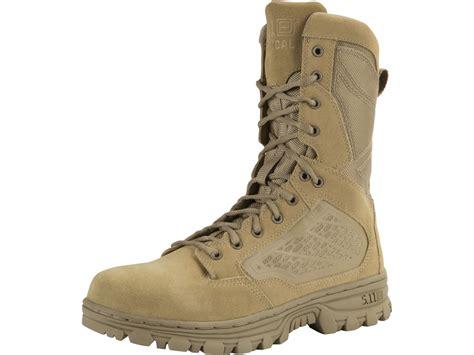 Sepatu Boots 511 Tactical 8 Inci 5 11 evo 8 desert side zip waterproof uninsulated tactical boots