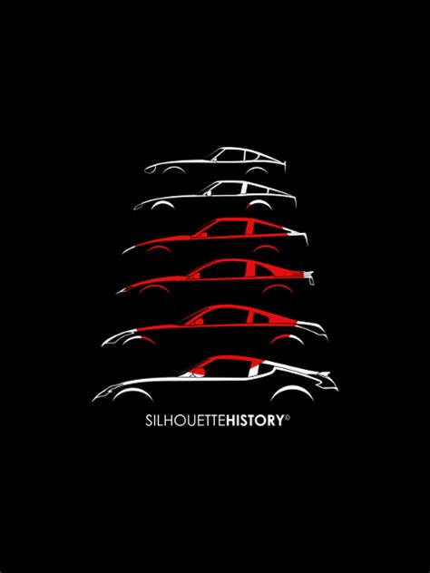 fairlady z generations silhouettehistory