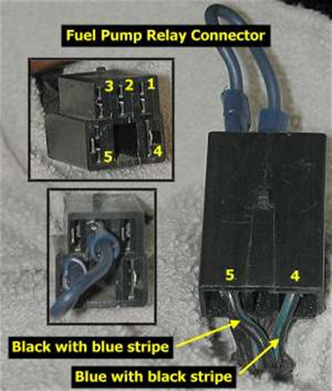 stealth 316 fuel relay resistor bypass