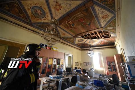 sede inps perugia tragedia sfiorata crolla soffitto della sede anci di