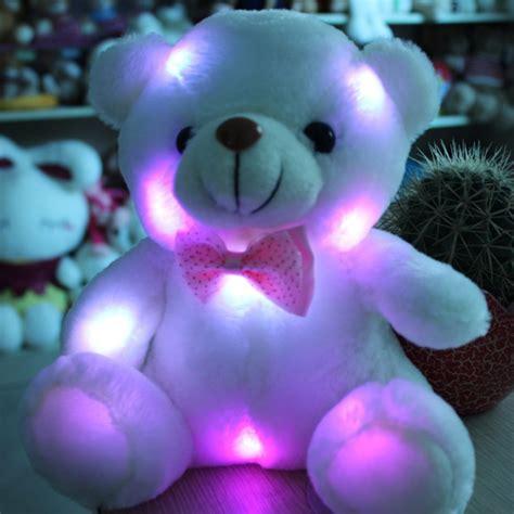night light cuddly toy cute stuffed night light plush lovely teddy bear soft doll