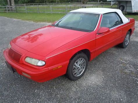 auto air conditioning repair 1995 chrysler lebaron parental controls purchase used 1995 chrysler lebaron gtc convertible 2 door 3 0l low miles very clean car in palm