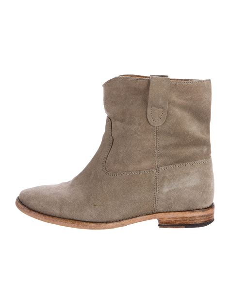 marant crisi suede ankle boots shoes isa41690