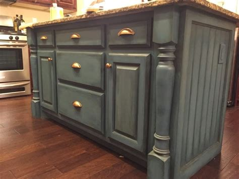 painted kitchen island with annie sloan chalk paint white easily bring character into a kitchen by painting the