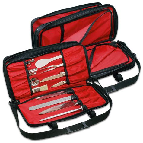 Mercer Kitchen Knives Mercer Culinary Triple Zip Knife Case Amazon Ca Home