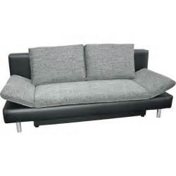 sofa 1 30 breit schlafsofa martha polyester grau schwarz sofas