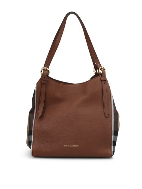 Burberry Bag house check derby canterbury tote by burberry shoulder