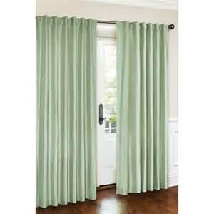 Canopy Window Curtains canopy faux silk window curtain panel walmart com