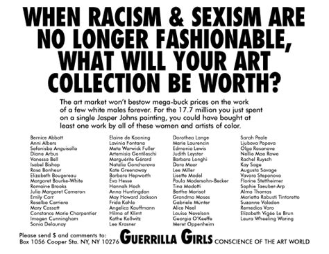 No Longer Fashionable quot when racism and sexism are no longer fashionable quot 1989