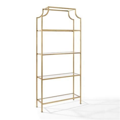 etagere gold glam gold bookcases and etageres