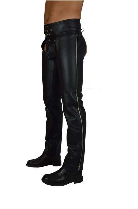 Lederchaps Motorrad by Lederchaps Awanstars Leather Fashion
