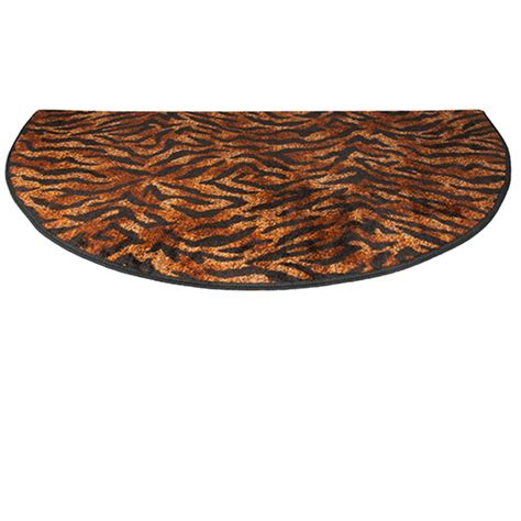 half rugs sale goods of the woods tiger safari half hearth rug 27 inch x 48 inch