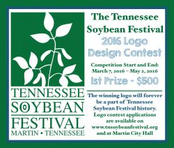 logo design competition guidelines soybean fun facts tennessee soybean festival