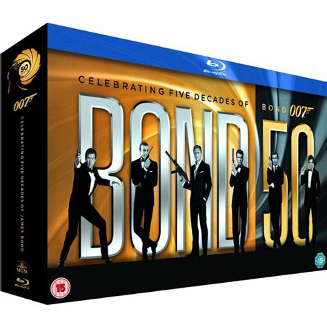 the complete james bond the complete james bond collection blu ray zavvi com
