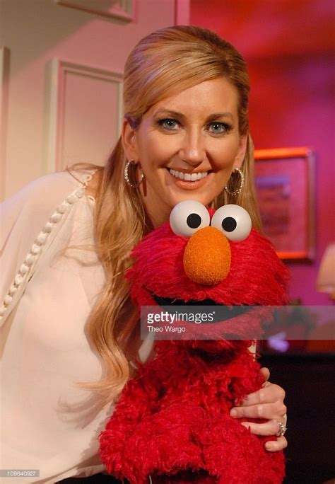 Leanne Womack Visited The Set Of Sesame by Womack With Elmo Womack Visited The Set Of