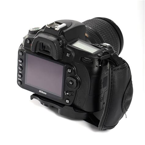 puleather wrist grip for canon eos nikon sony olympus slr dslr ebay