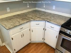 Kitchen Countertop And Backsplash Ideas by How To Install A Tile Backsplash Without Thinset Or Mastic