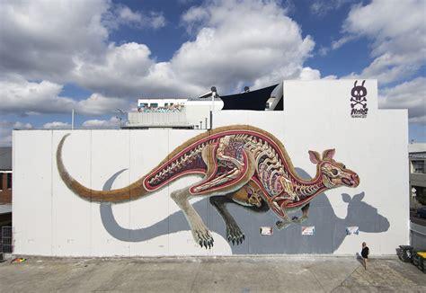 3d Murals anatomy colossal