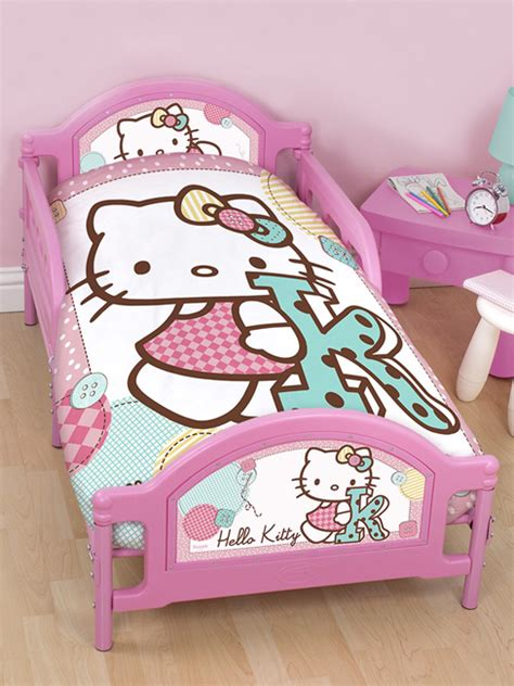 hello kitty toddler bed hello kitty stitch junior toddler bed