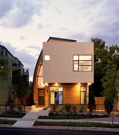 irregularly shaped modern residence in denver colorado
