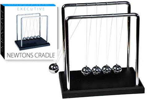 large newtons cradle work gadget office desk toy gift home