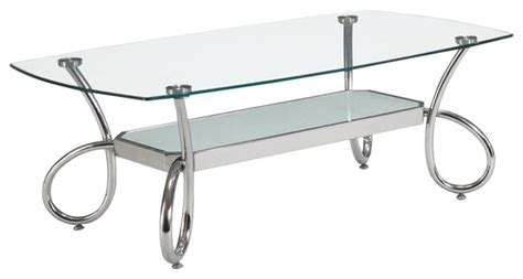 virrea rectangular glass coffee table 50 best collection of rectangle glass chrome coffee tables