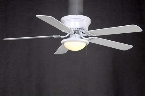 52 inch hugger ceiling fan hton bay al383 wh hugger 52 inch low profile white dome