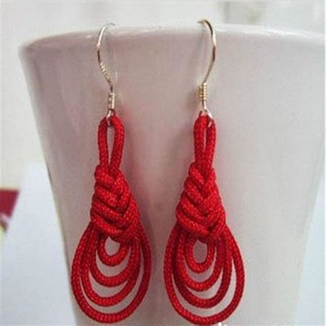 Make Handmade Earrings - you to see how to make handmade earrings knot earri