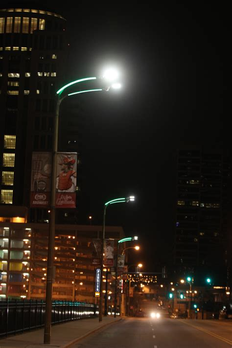New Lights Promise Colorful Safer Downtown St Louis Light Installation St Louis
