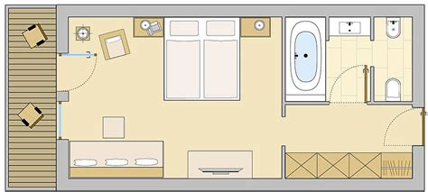 layout of hotel room standard hotel room plan furniture