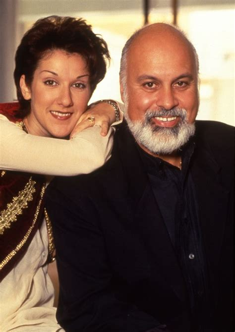 celine dion and rene biography c 233 line dion and ren 233 ang 233 lil during their engagement
