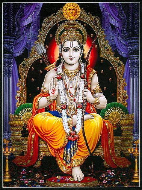 ram hindu god lord rama reprint on paper unframed lord rama